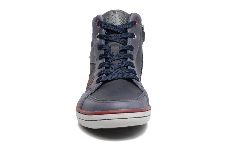Baskets Geox J Garcia B. B  J74B6B Bleu vue portées chaussures