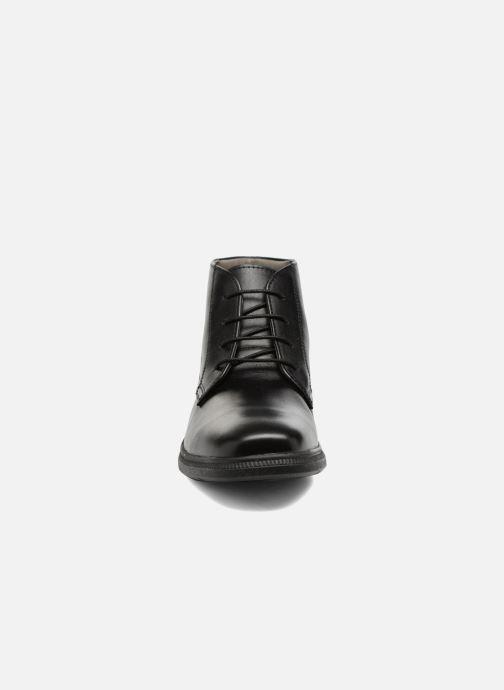Bottines et boots Geox J Federico A J74D1A Noir vue portées chaussures