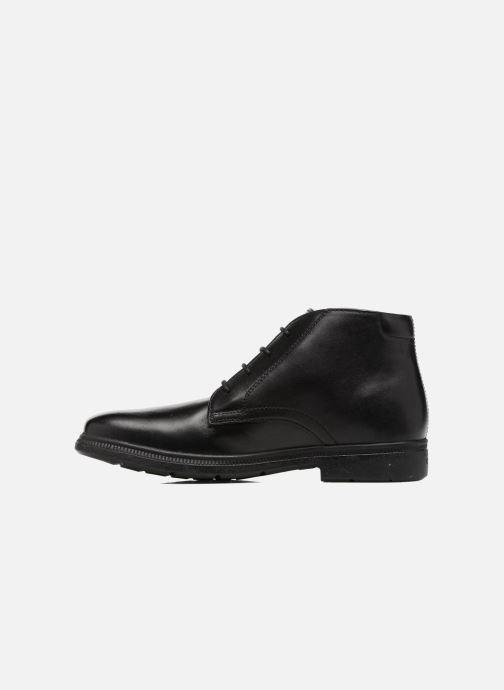 Bottines et boots Geox J Federico A J74D1A Noir vue face