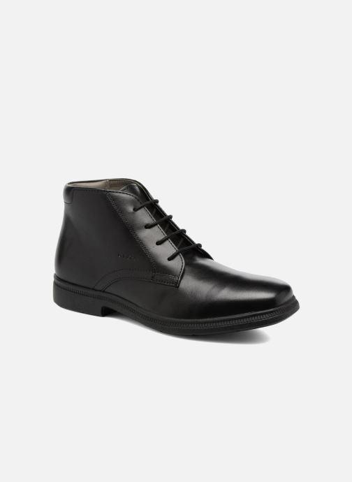 Boots en enkellaarsjes Geox J Federico A J74D1A Zwart detail