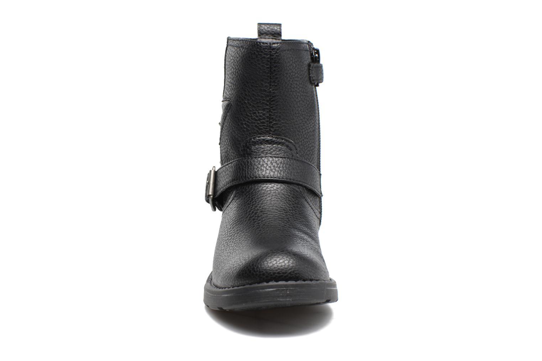 Stiefel Geox J Sofia C J74D3C schwarz schuhe getragen