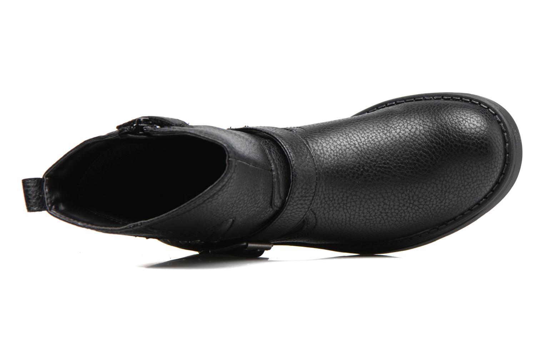 Stiefel Geox J Sofia C J74D3C schwarz ansicht von links