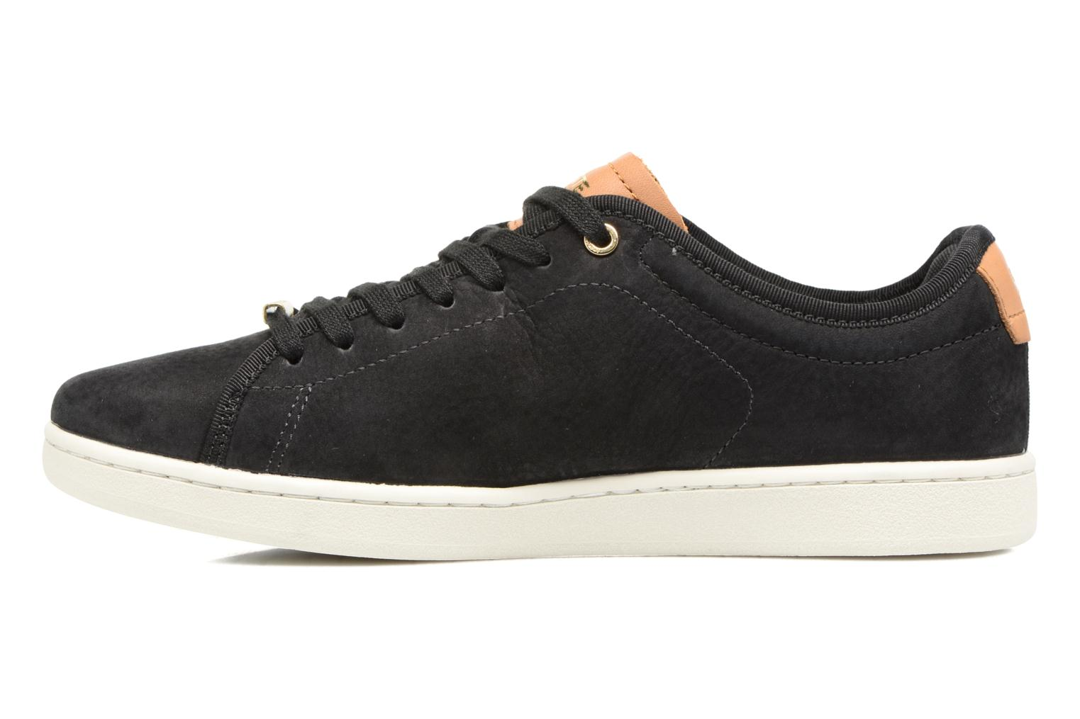 Baskets Lacoste CARNABY EVO 317 8 Noir vue face