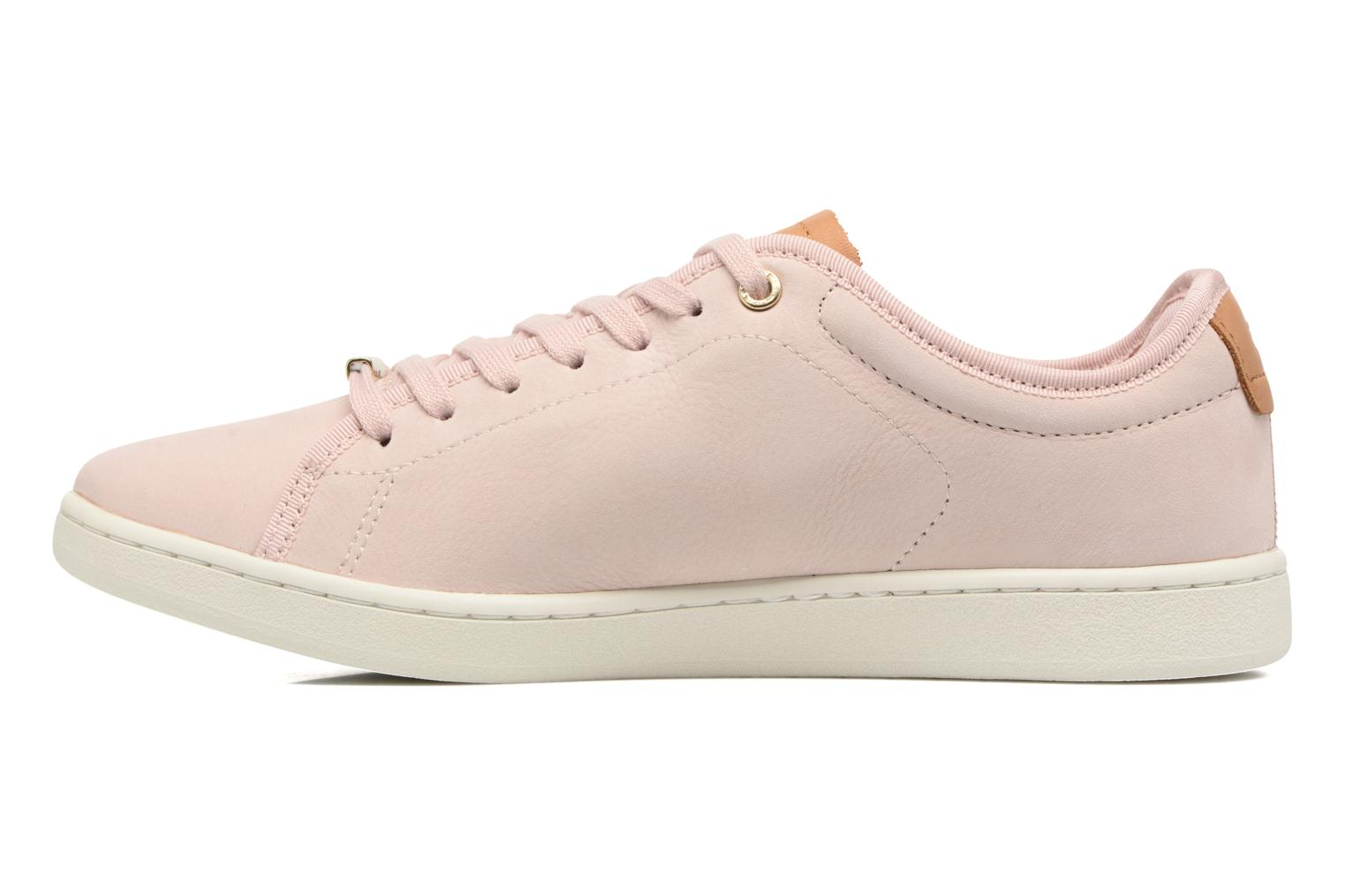 Baskets Lacoste CARNABY EVO 317 8 Rose vue face