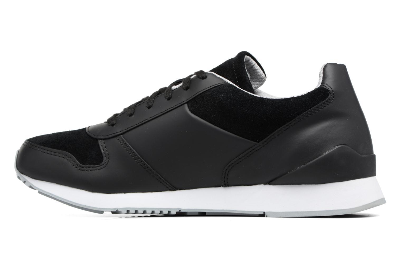 Sneakers Lacoste TRAJET 417 3 Zwart voorkant