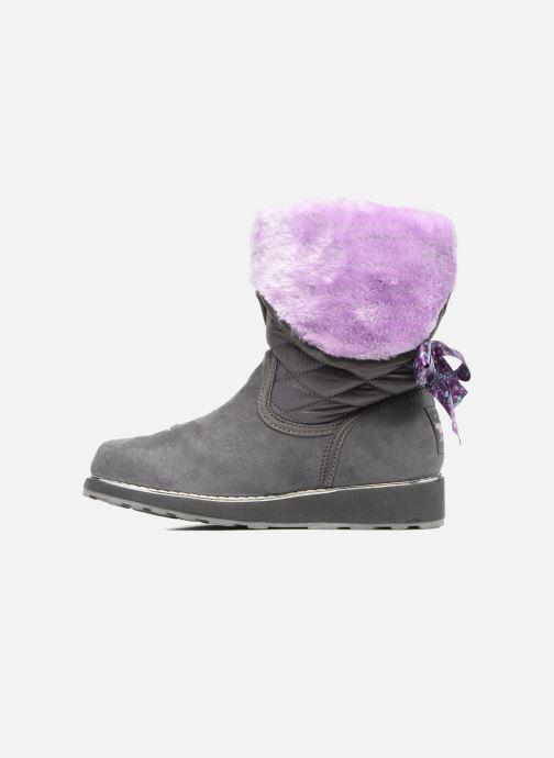 Støvler & gummistøvler Skechers Sparkle Spell Fold n Fab Grå se forfra