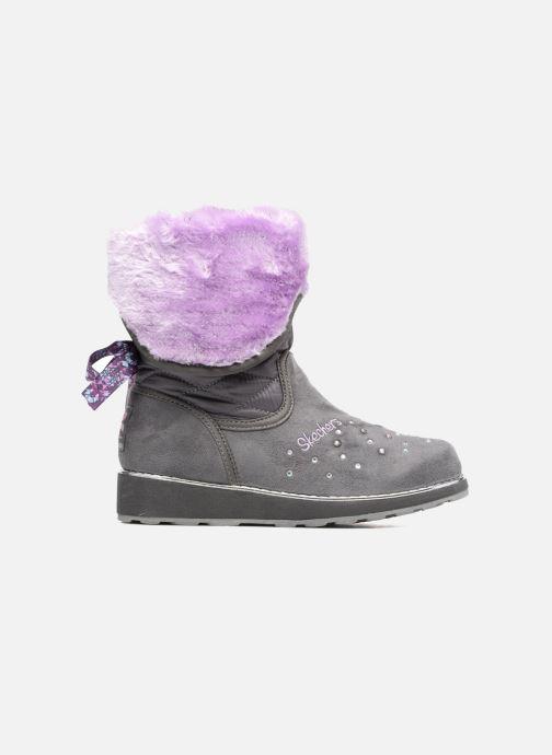 Støvler & gummistøvler Skechers Sparkle Spell Fold n Fab Grå se bagfra