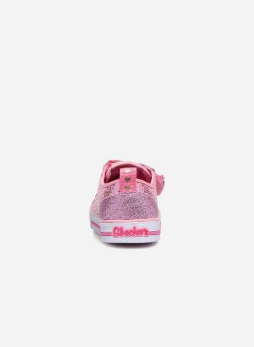 Sneakers Skechers Shuffles Itsy Bitsy Roze rechts