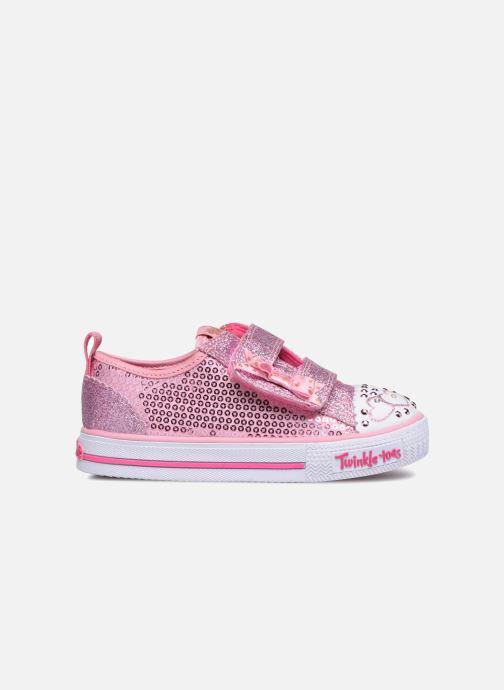 Sneakers Skechers Shuffles Itsy Bitsy Roze achterkant