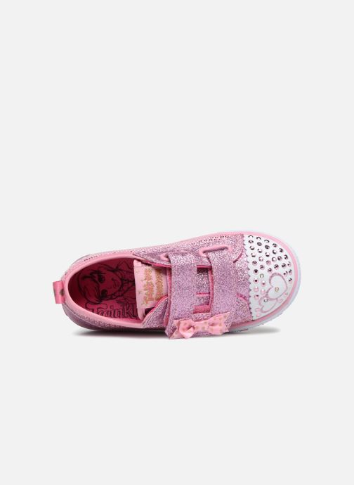 Sneakers Skechers Shuffles Itsy Bitsy Roze links