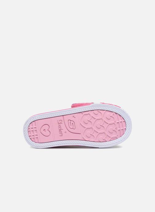 Sneakers Skechers Shuffles Itsy Bitsy Roze boven