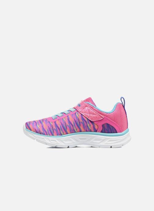 Sneaker Skechers Litebeams Colorburst rosa ansicht von vorne