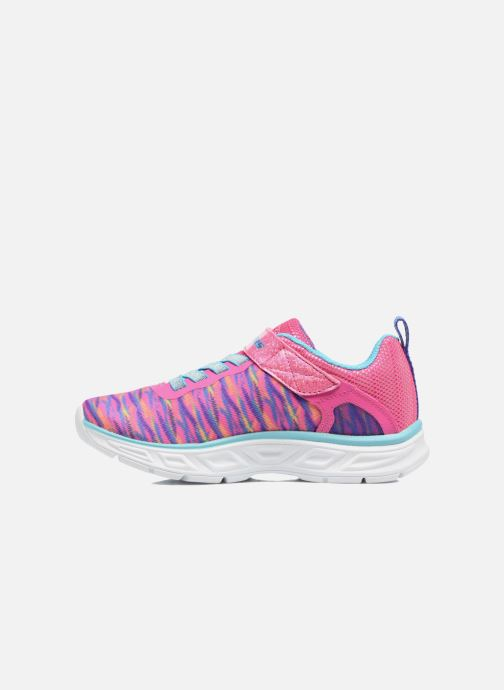 Deportivas Skechers Litebeams Colorburst Rosa vista de frente