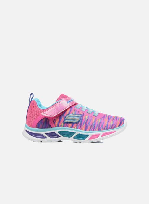 Sneaker Skechers Litebeams Colorburst rosa ansicht von hinten