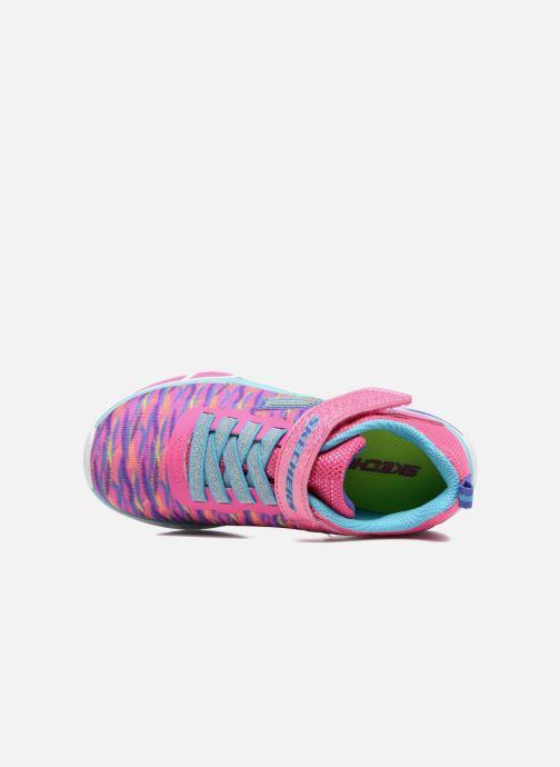 Sneaker Skechers Litebeams Colorburst rosa ansicht von links
