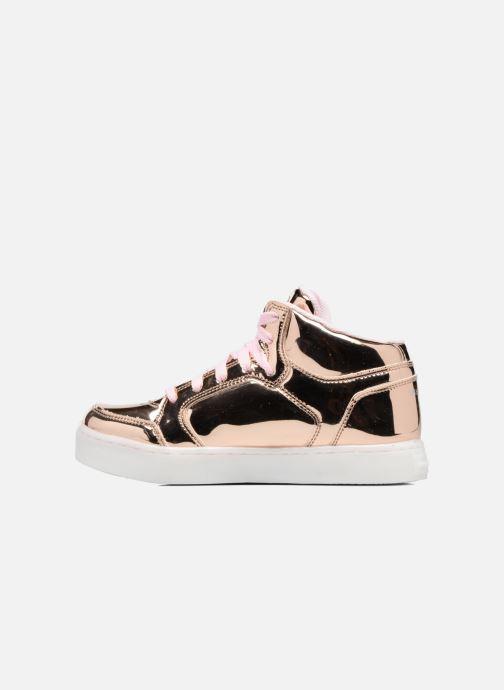 Sneakers Skechers Energy Lights Guld og bronze se forfra
