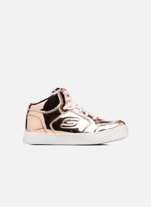 Sneakers Skechers Energy Lights Guld og bronze se bagfra