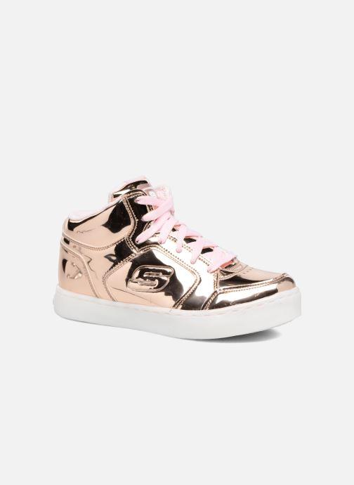 Sneakers Skechers Energy Lights Guld og bronze detaljeret billede af skoene
