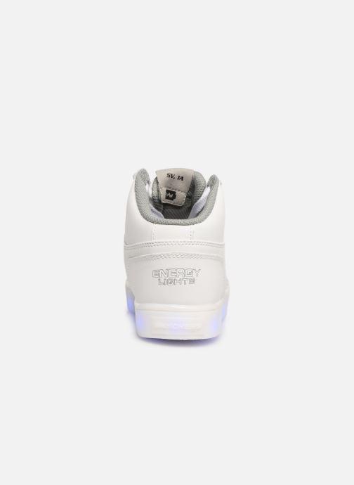 Baskets Skechers Energy Lights Blanc vue droite