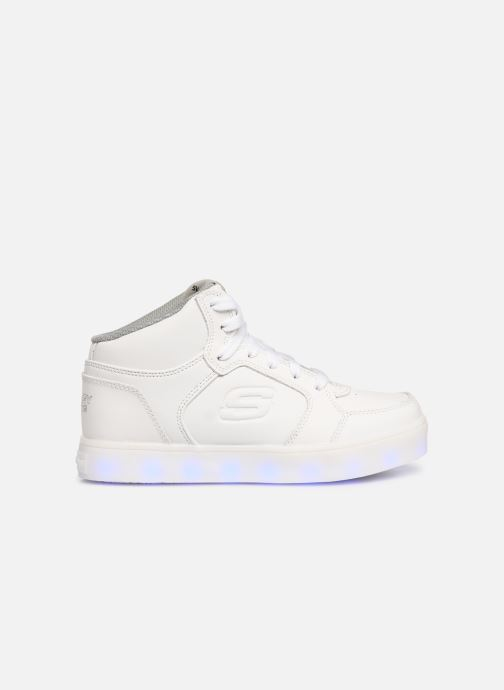 Trainers Skechers Energy Lights White back view