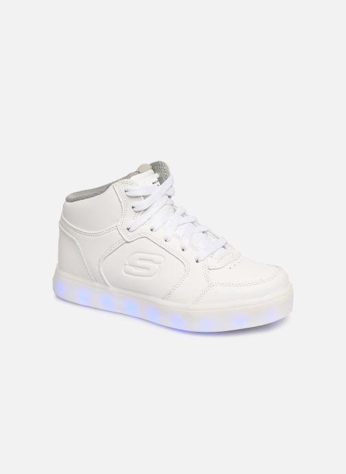 Baskets Skechers Energy Lights Blanc vue détail/paire