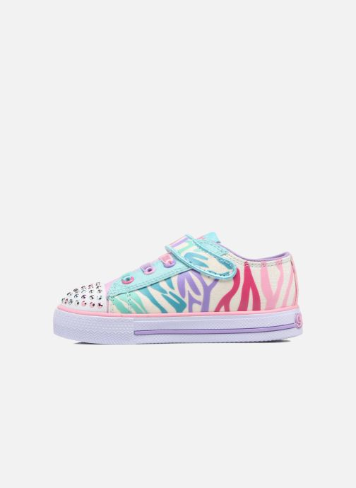 Sneakers Skechers Shuffles Party Pets Multicolore immagine frontale