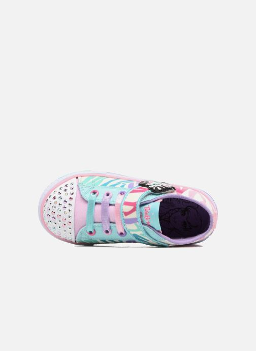 Sneakers Skechers Shuffles Party Pets Multicolore immagine sinistra
