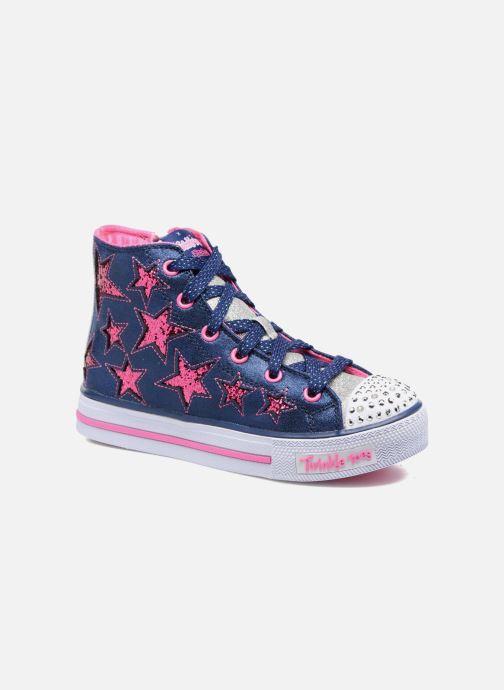 Skechers Shuffles Rockin Stars (Blauw) Sneakers chez