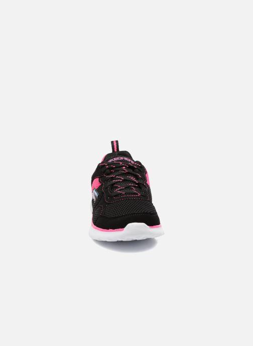 Chaussures de sport Skechers Go Run 400 K Noir vue portées chaussures