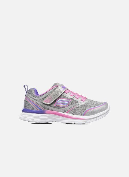 Chaussures de sport Skechers Dream N'Dash Peppy Prance Gris vue derrière
