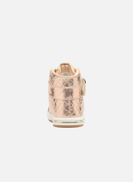 Sneaker Skechers Shoutouts Quilted Crush gold/bronze ansicht von rechts