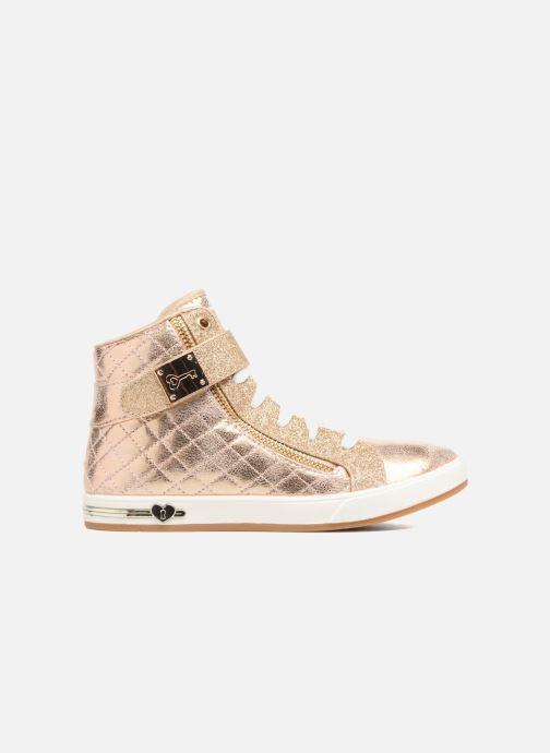 Sneaker Skechers Shoutouts Quilted Crush gold/bronze ansicht von hinten