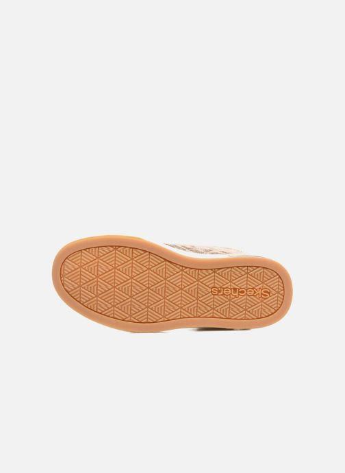 Sneaker Skechers Shoutouts Quilted Crush gold/bronze ansicht von oben