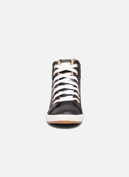 Sneaker Skechers Shoutouts Zipper Fancy schwarz schuhe getragen