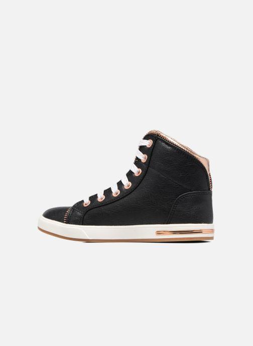 Sneakers Skechers Shoutouts Zipper Fancy Zwart voorkant