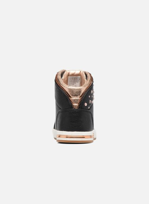 Sneaker Skechers Shoutouts Zipper Fancy schwarz ansicht von rechts