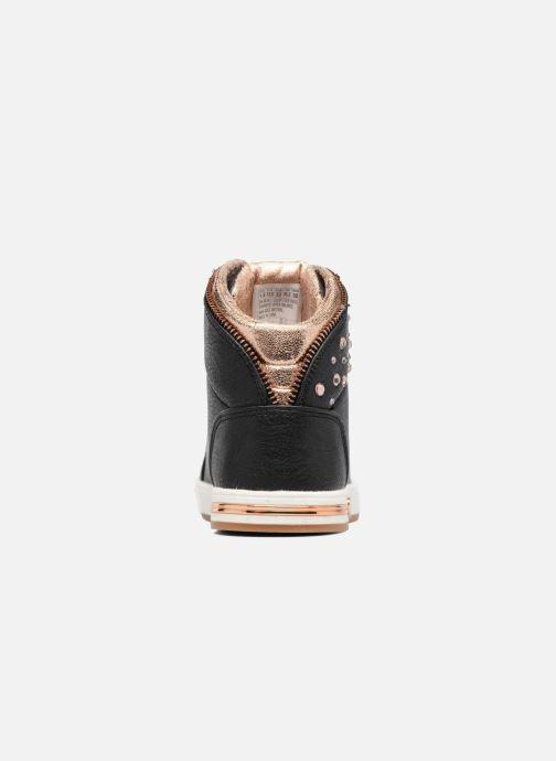 Sneakers Skechers Shoutouts Zipper Fancy Zwart rechts