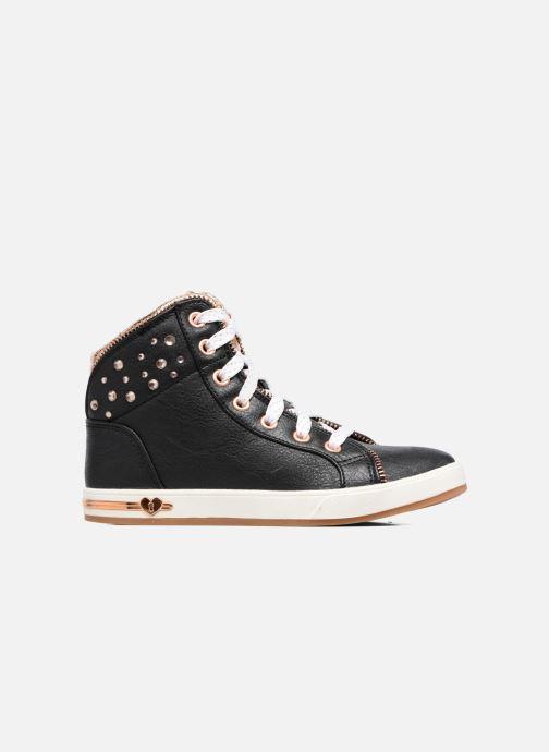 Sneaker Skechers Shoutouts Zipper Fancy schwarz ansicht von hinten