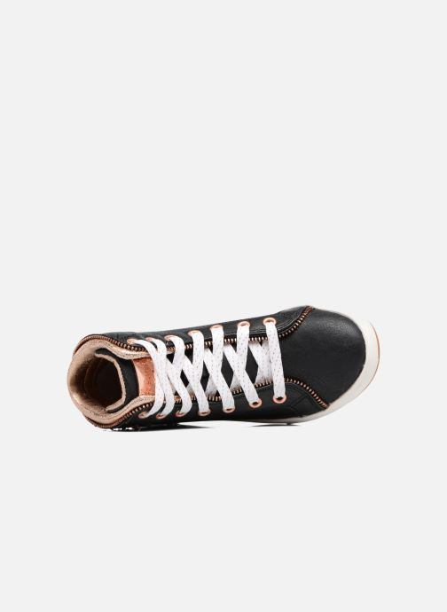 Sneaker Skechers Shoutouts Zipper Fancy schwarz ansicht von links