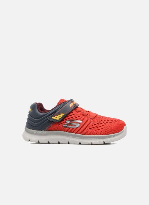 Chaussures de sport Skechers Skech-Lite Micro Stepz Rouge vue derrière