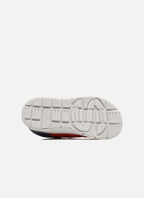 Chaussures de sport Skechers Skech-Lite Micro Stepz Rouge vue haut