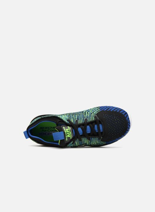 Zapatillas de deporte Skechers Air Advantage Sonic Blast Azul vista lateral izquierda