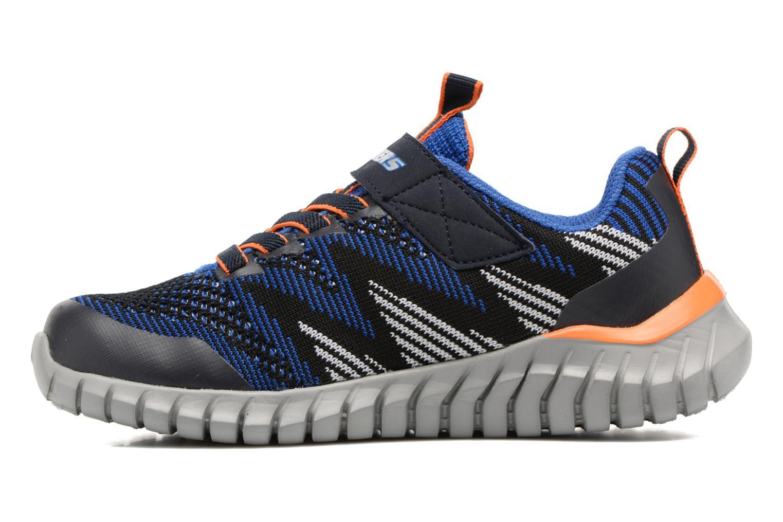 Sportschuhe Skechers Spektrix blau ansicht von vorne