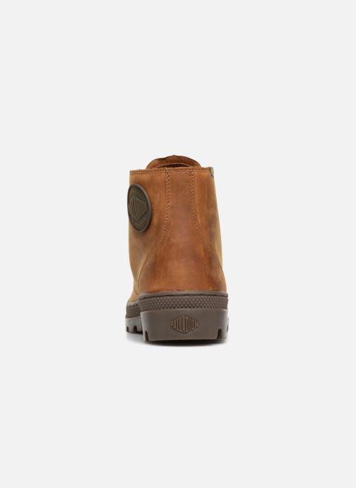 Bottines et boots Palladium Pallabosse Mid Marron vue droite