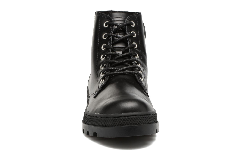 Boots en enkellaarsjes Palladium Pallabosse Mid Zwart model