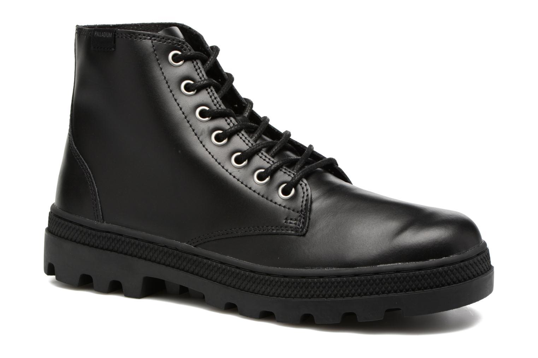 Stiefeletten & Boots Palladium Pallabosse Mid schwarz detaillierte ansicht/modell