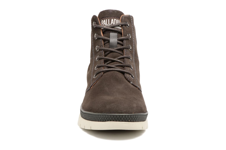 Boots en enkellaarsjes Palladium Pallasider Mid Sue Bruin model