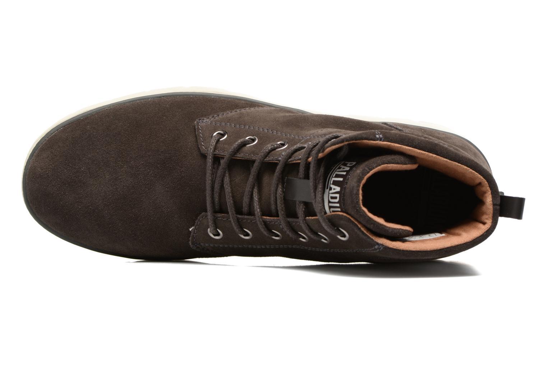 Boots en enkellaarsjes Palladium Pallasider Mid Sue Bruin links