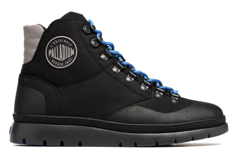 Boots en enkellaarsjes Palladium Pallasider HIKR Mid Zwart achterkant