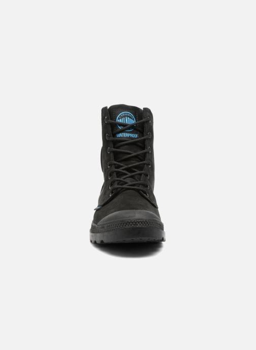Bottines et boots Palladium Pampa Cuff WP LUX M Noir vue portées chaussures
